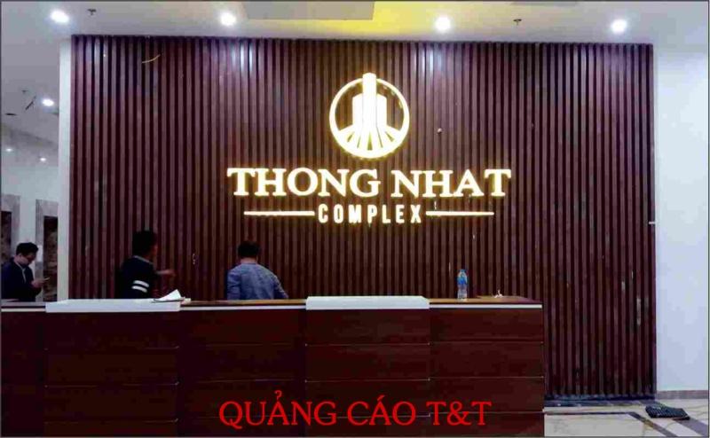 CHU BACKDROP - THONG NHAT COMPLEX