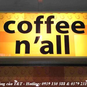 Làm biển hộp đèn mica giá rẻ, uy tín tại Hà Nội