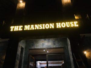 thiết kế biển quảng cáo tại Mansion House
